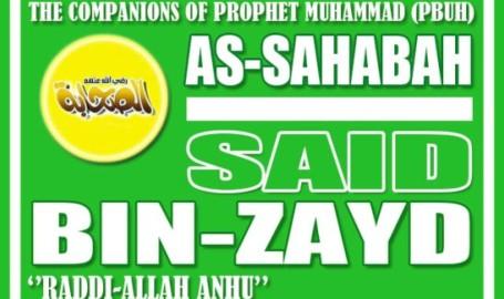 Sahabat Said bin Zayd